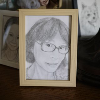 Sketch / Customization / Portrait / Pet / Illustration 5 X 7 Photo Frame / Picture Frame (with box)