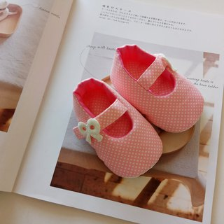 Foundation water jade bow baby shoes baby shoes lace-up baby shoes moon gift