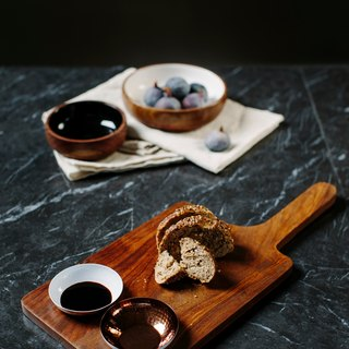 【New】Sheesham Wood Serving Paddle & Bowl Set