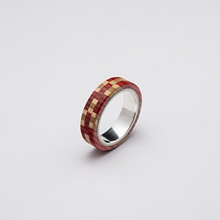 Send wood style ring R0409002