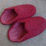 【樂拍子】尼泊爾 羊毛氈 手工鞋 室內鞋 室內拖(紅 23cm)