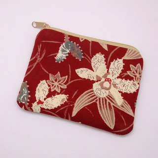 Zipper pouch / coin purse (padded) (ZS-172)