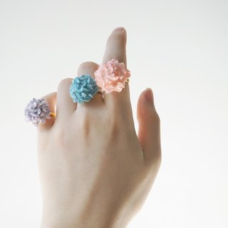 Hydrangea Ring =Flower Piping= Customizable