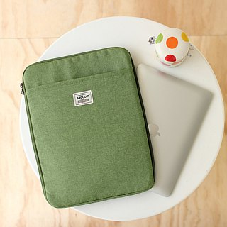 Multi-layered easy to use bag (13.5 notebook OK) Ma Green _100443
