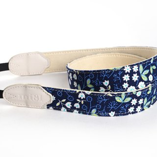 mi81 Neck Strap Navy Flower
