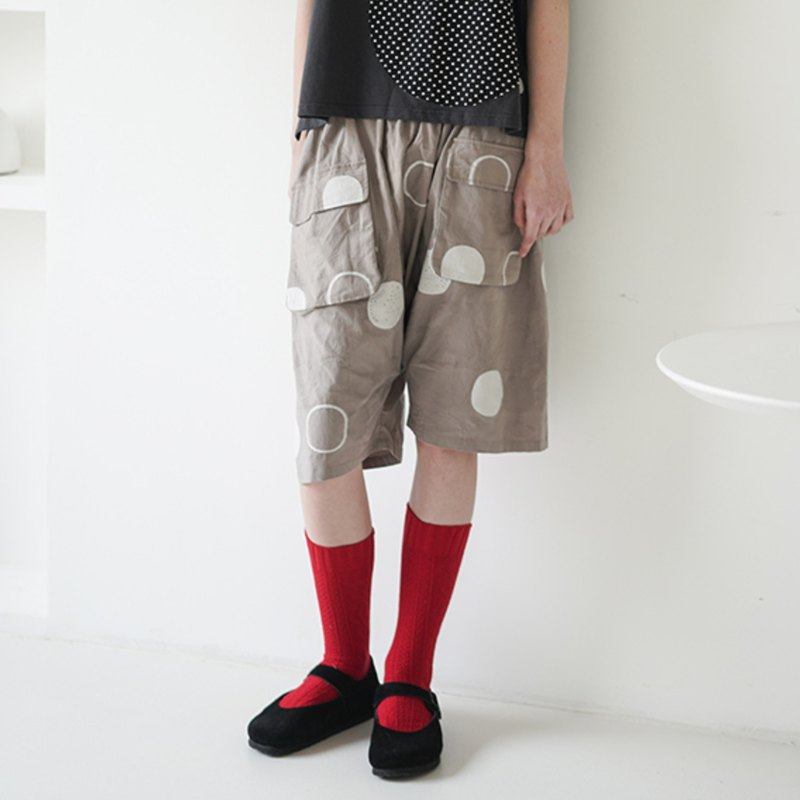 Double pocket loop five pants - imakokoni