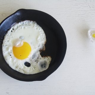 Pin - love to eat fried eggs