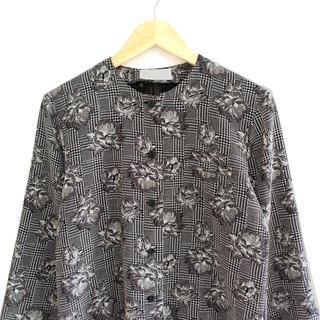 │Slowly│Black Rose - Vintage Shirt │vintage. Retro. Literature. Made in Japan