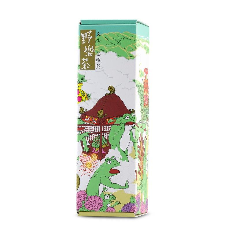 【野樂茶】太極茶包—文山包種茶禮盒(四入)