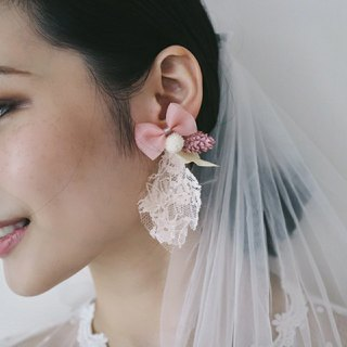| Fussy Wife | Dry Flower Ear Pins (Two Wearing Methods)