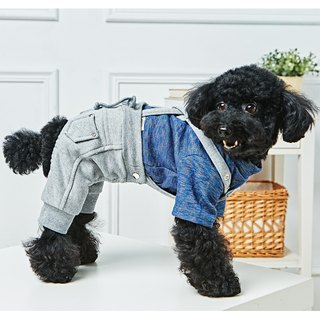 Pet clothes suspenders casual trousers