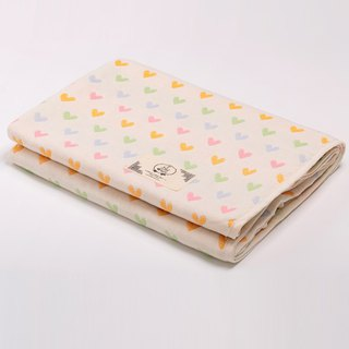 [Made in Japan Sanhe Kapok] Six Gauze Cloth - Sweet Love Macarons M