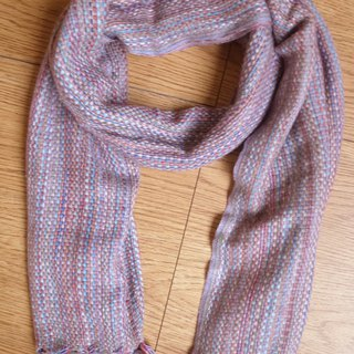 Cashmere Stripes Shawl / Scarf / Stole Handmade from Nepal thick
