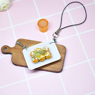 =>Clay Series - Octopus Maruko - Charm # can be changed into a key ring => limited *1