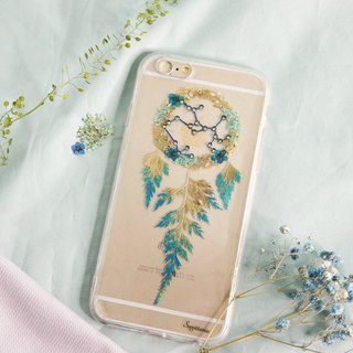 Sagittarius Pressed Flower Dreamcatcher Phone Case | 12 Zodiac