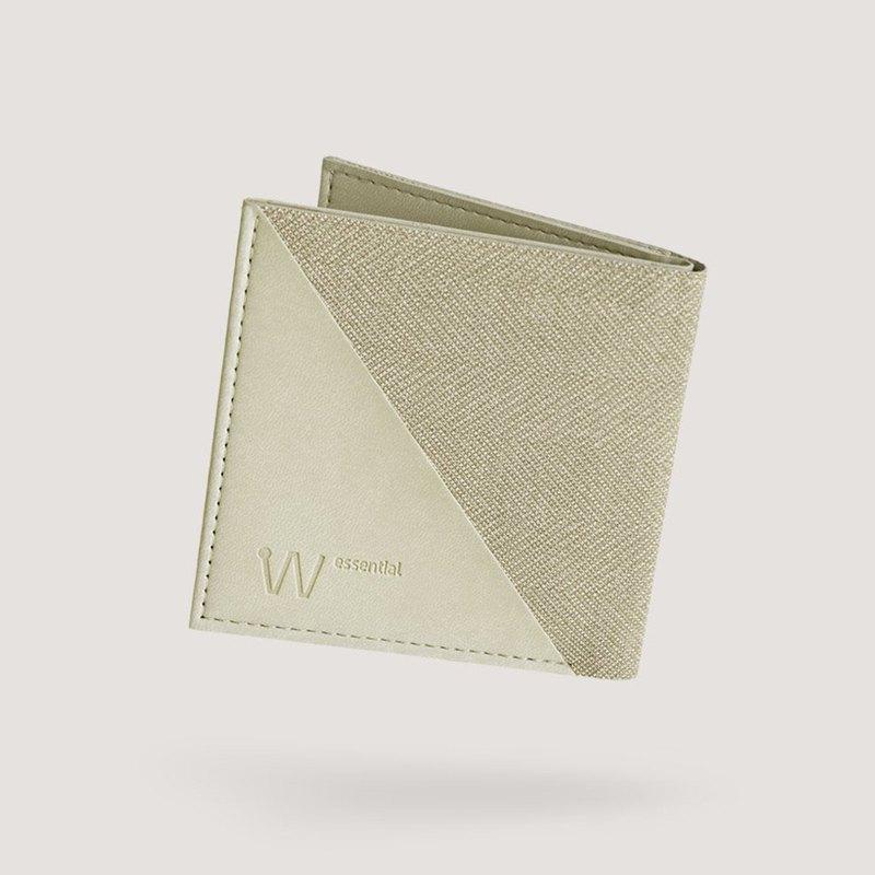 Baggizmo Wiseward Essential RFID保護的雙向錢包-Sandy Beige