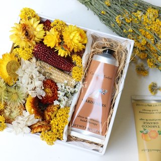 Pamper yourself - warm yellow box