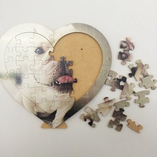 * Customized wooden puzzle * (small size)