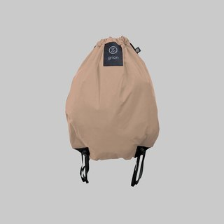 grion waterproof bag - back section (M) latte color