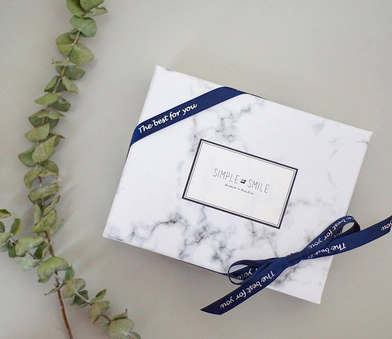 Simple Smile - Marble Gifting Box Packing