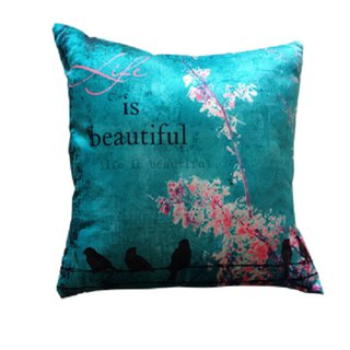 Beautiful world pillow