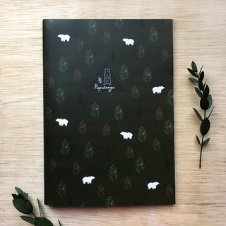 Puputraga / Plus purchase ~ no separate sales ~ Forest Bear notebook / send peace message