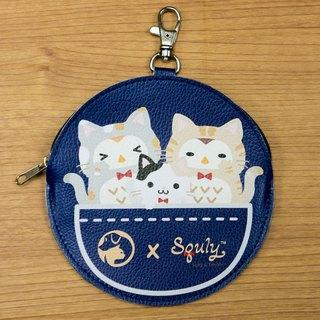 SPCA x Squly and Friends Coin Bag (Cat) - G006SQB