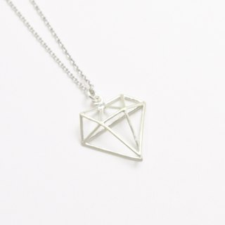 Structure Diamond Necklace