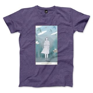 XX | Judgement - heather purple - Unisex T-Shirt