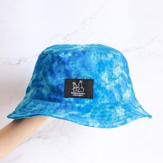 Blue rendering fisherman hat