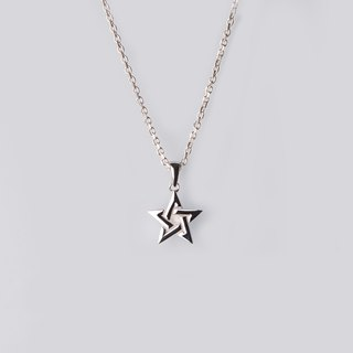 【Cheng Tours】Stars - Star Pendant - 925 Silver Necklace