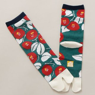 Pre-ordered Zhonghe Feng Camellia Two Finger Socks Foot Bag - Medium Length 7JKP8129
