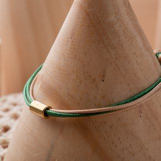 Charlene Traction - Very Thin Line Silk Hand Strap - Hand Made Bracelet Bracelet Pair Chain Anklet Necklace - 36c