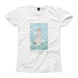 XXI | The World - White - Women's T-Shirt