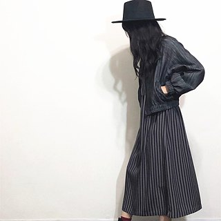 Hand made black and grey coat