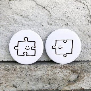 Puzzle / Small Badge (2 in)