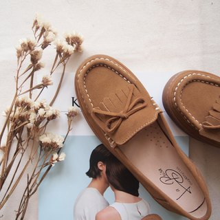 3M Scotchgard Suede Moccasins (Brown)
