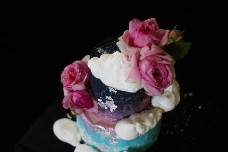 客製蛋糕、婚禮蛋糕、生日蛋糕、星空蛋糕