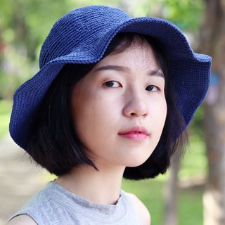 RedCheeks Summer Hat Cap - Deep Blue Color