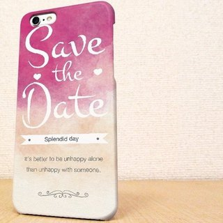 iPhone case GALAXY case ☆Save the date