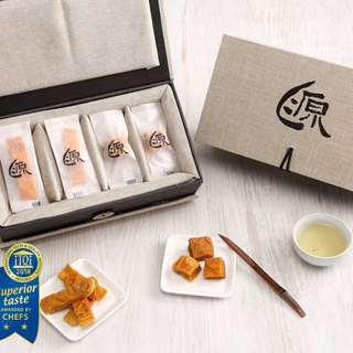 Food Michelin 3+2 stars - [source home mango dry] classic double gift box