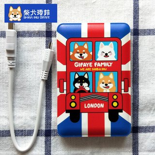 JB Design-Shiba Kenqi Action Power -6780MAH-英伦琦菲 (send area limited to Taiwan)