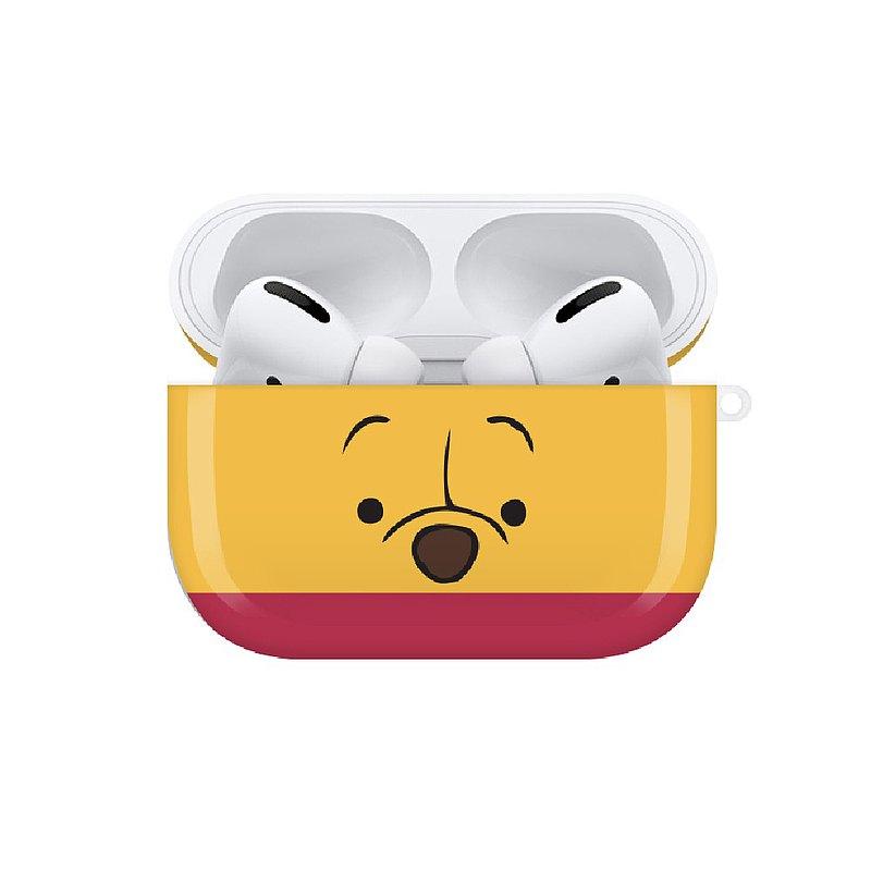【Hong Man】迪士尼系列 Airpods Pro耳機保護套 大臉系列 小熊維尼