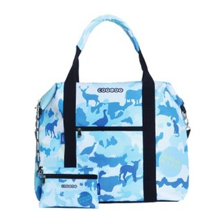 COPLAY  travel bag- blue zoo