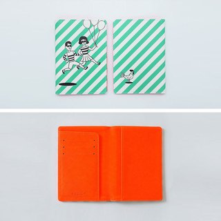 Boy girl passport holder (thin)