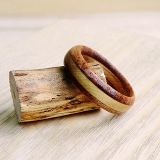 ***will be off the shelf*** handmade wooden rings with handmade wooden box custom made