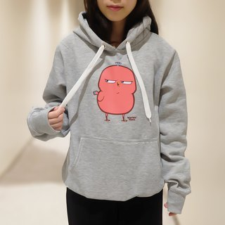 Phebie Signature pose Hoodie / winter sweater (Light Grey)