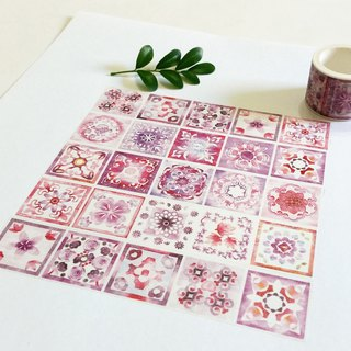 Jielin Washi Tape Purple Spring