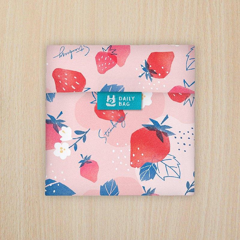 【買3送1】口罩收納袋 - 鮮紅草莓 (防疫必備小物) ~7/4止
