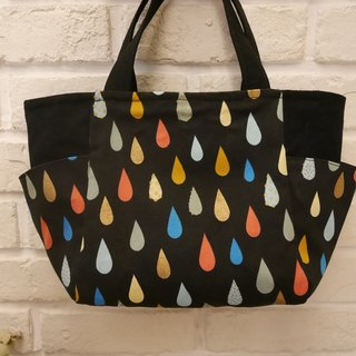 Dark raindrops go out bag